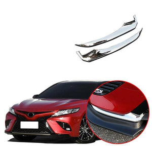 NINTE Chrome Front Bumper Protection Cover Trim For TOYOTA Camry 2018 2019 SE XSE - NINTE
