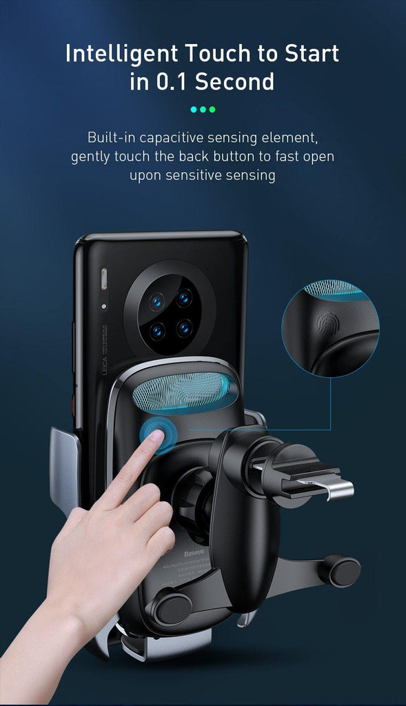 Wireless Car Phone Holder - NINTE