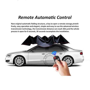 Car-covers Automatic Sunshade Remote Control Umbrella Nano Telescopic for Car Protection Accessories - NINTE