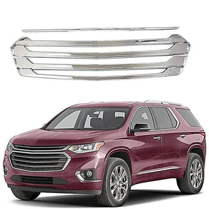 NINTE Car Styling Front Grill Cover Trim For 2018-2019 Chevrolet Traverse - NINTE