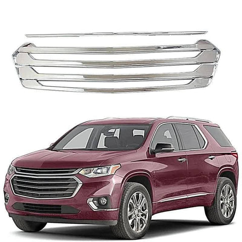 NINTE Car Styling Front Grill Cover Trim For 2018-2020 Chevrolet Traverse - NINTE