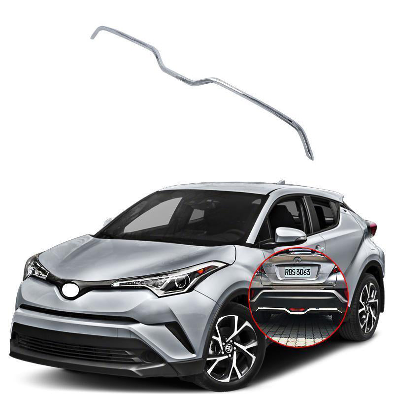 NINTE Toyota C-HR 2016-2019 ABS Chrome Rear Bumper Protector Cover - NINTE