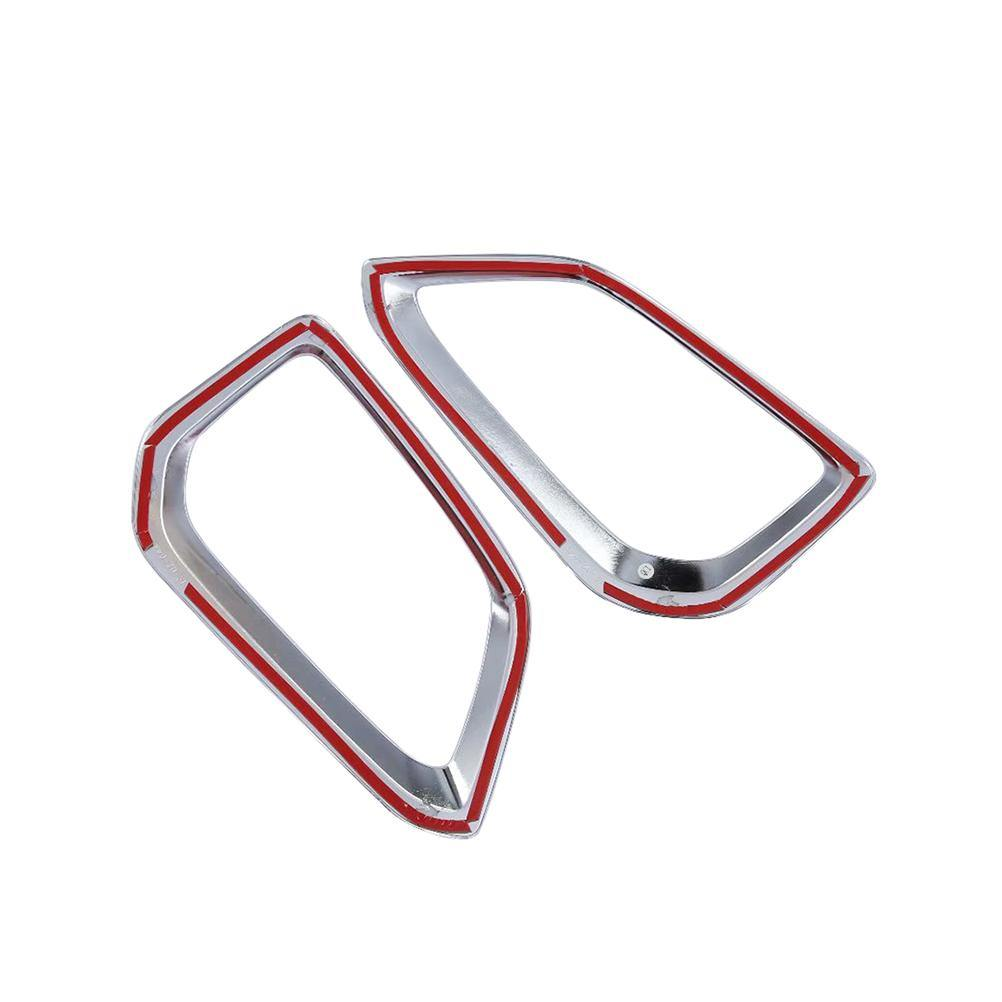 Ninte Hyundai Kauai Kona Encino SUV 2017-2020 2 PCS Rear Tail Fog Light Lamp Cover - NINTE