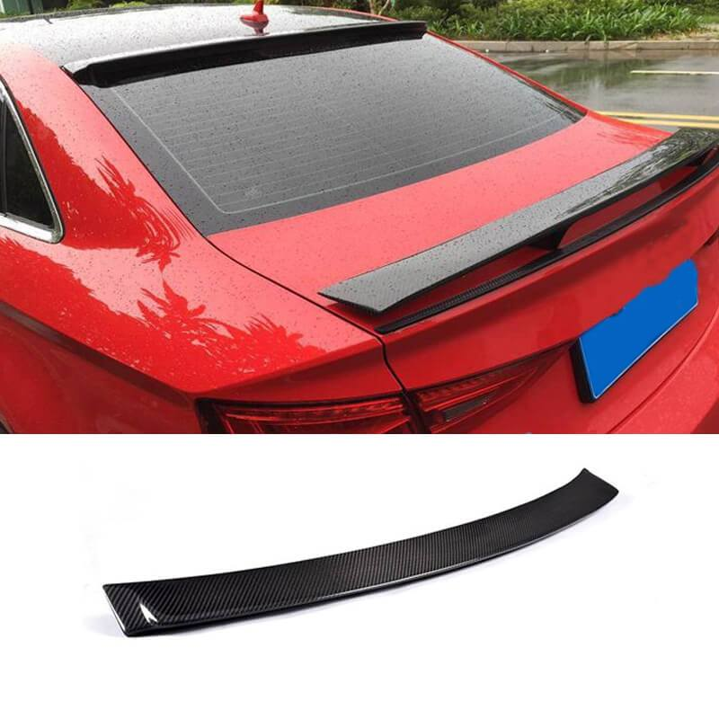NINTE Roof Spoiler for Audi A3 S3 Sedan 2015 2016