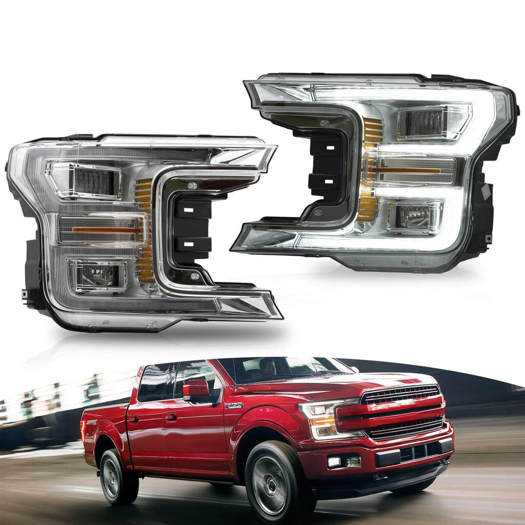 NINTE Headlight for Ford F150 2017-2020