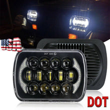 "Load image into Gallery viewer, NINTE Newest Brightest 105W 7X6"" 5X7"" LED Headlight DRL For Jeep Cherokee XJ Chevrolet"
