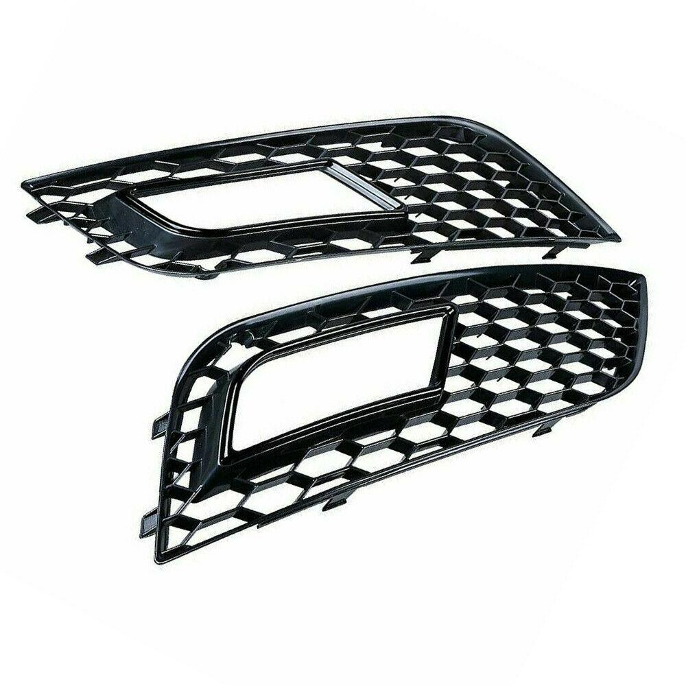 Audi A4 B8.5 RS Style Front Bumper Fog Light Grille