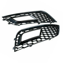 Load image into Gallery viewer, Audi A4 B8.5 RS Style Front Bumper Fog Light Grille