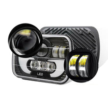 Load image into Gallery viewer, NINTE 2PCS 120W 5x7 / 7x6 LED Hi-Lo DRL H6054 Headlight