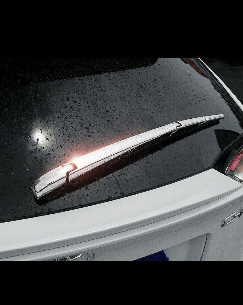 Toyota C-HR 2017-2019 ABS Chrome Tail Rear Window Wipers Rain Wiper Cover - NINTE