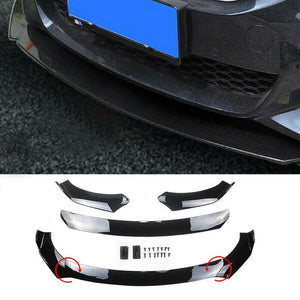 Universal Front Bumper Lip Body Kit Spoiler For BMW Audi Benz Mazda Honda Civic(Fits Audi Q5) - NINTE