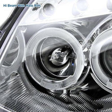 Load image into Gallery viewer, For 03-07 Infiniti G35 2Dr Coupe Clear Lens LED Halo Projector Headlights Pair - NINTE
