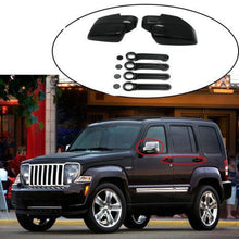 Load image into Gallery viewer, NINTE 2008-2013 JEEP LIBERTY & 2007-2012 DODGE NITRO Gloss Black Mirror & Door handle Covers - NINTE