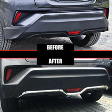 Load image into Gallery viewer, NINTE Toyota C-HR 2016-2019 ABS Chrome Rear Bumper Protector Cover - NINTE