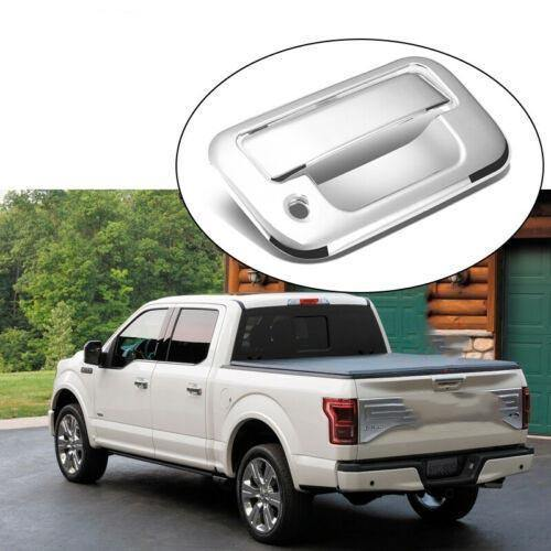 NINTE Ford F150 & 2014-2017 GMC Sierra New Chrome ABS Tail Gate Door Handle Covers - NINTE