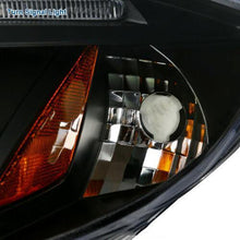 Load image into Gallery viewer, For Mitsubishi 06-11 Eclipse LED Halo Projector Headlights Head Lamps Black Pair - NINTE