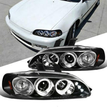 Load image into Gallery viewer, NINTE For Honda 92-95 Civic 2/3/4Dr LED DRL Halo Projector Headlights - NINTE