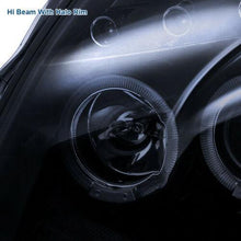 Load image into Gallery viewer, Glossy Piano Black For Infiniti 03-07 G35 2Dr Coupe Tinted Projector Headlights - NINTE