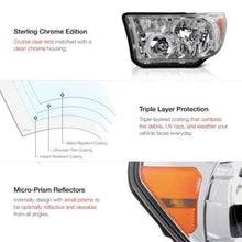 Load image into Gallery viewer, LH+RH Crystal Clear Headlight Signal Lamp For Toyota 07-13 Tundra 08-17 Sequoia - NINTE