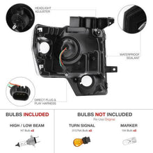 Load image into Gallery viewer, For 09-14 Ford F150 Black Projector Headlight Lamp L+R - NINTE