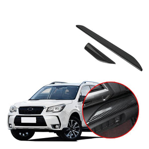 Front Central Control Cover Pattern Trim For SUBARU Forester 2019 NINTE - NINTE