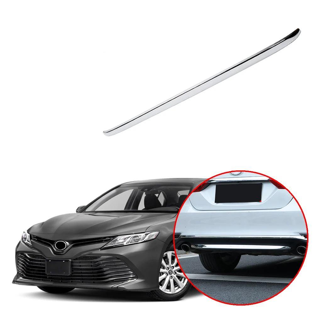 Toyota Camry 2018-2019 Chrome Rear Bumper Lip Cover Lower - NINTE