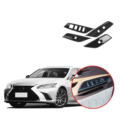 Lifting Switch Button Panel Cover Trim Sticker Fit for Lexus ES NINTE - NINTE
