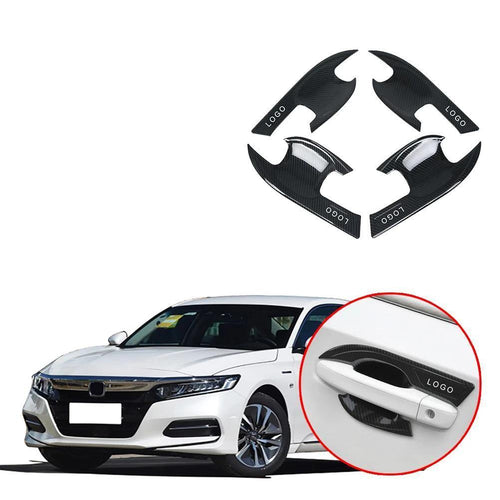 NINTE Door handle frame cover door bowl trim Exterior Accessories For Honda Accord 2018 19 - NINTE
