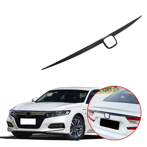 NINTE Car styling Rear Trunk License Cover Tailgate Trim For Honda Accord 10th 2018-2019 - NINTE