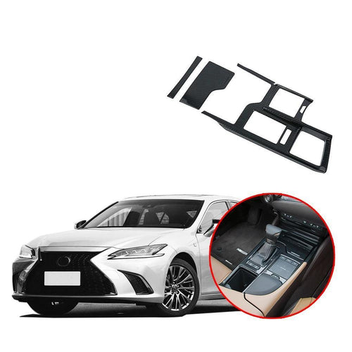 Interior Gear Shift Box Panel Decoration Trim Cover Fit for Lexus ES NINTE - NINTE