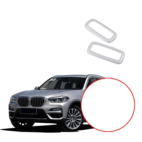 NINTE Rear Seat Upper Roof Reading Lights Lamp Frame Molding Cover For BMW X3 G01 2018 2019 - NINTE