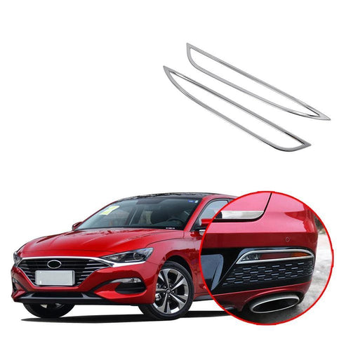 ABS Chrome Car Rear Fog Light Lamp Cover Trim For HYUNDAI LA FESTA 2018-2019 NINTE - NINTE