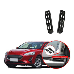 For Ford Focus 2019 2020 Front A Pillar Air Condition Vent AC Outlet Cover Trim NINTE - NINTE
