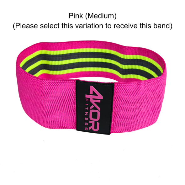 "Single Resistance Band | Non-Slip Fabric | Ultra Comfortable | Individual 3"" Booty Band"