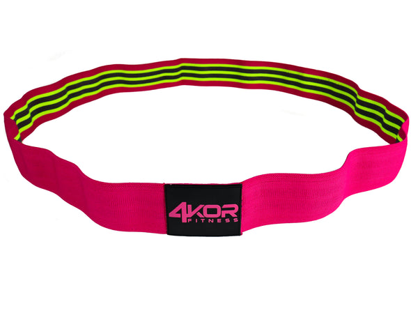 Long Resistance Bands | Non-Slip Fabric | Ultra Comfortable | Power Bands