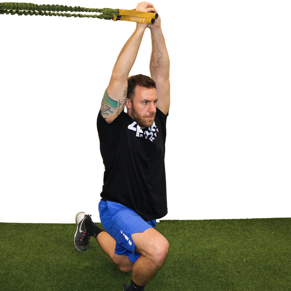 Resistance Bands for Shoulder and Core Strengthening | 3 Level Resistance Cord Set