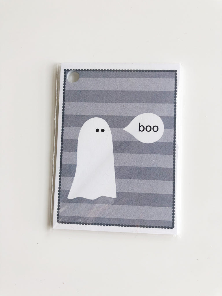 Happiernotes Halloween BOO Gift tags