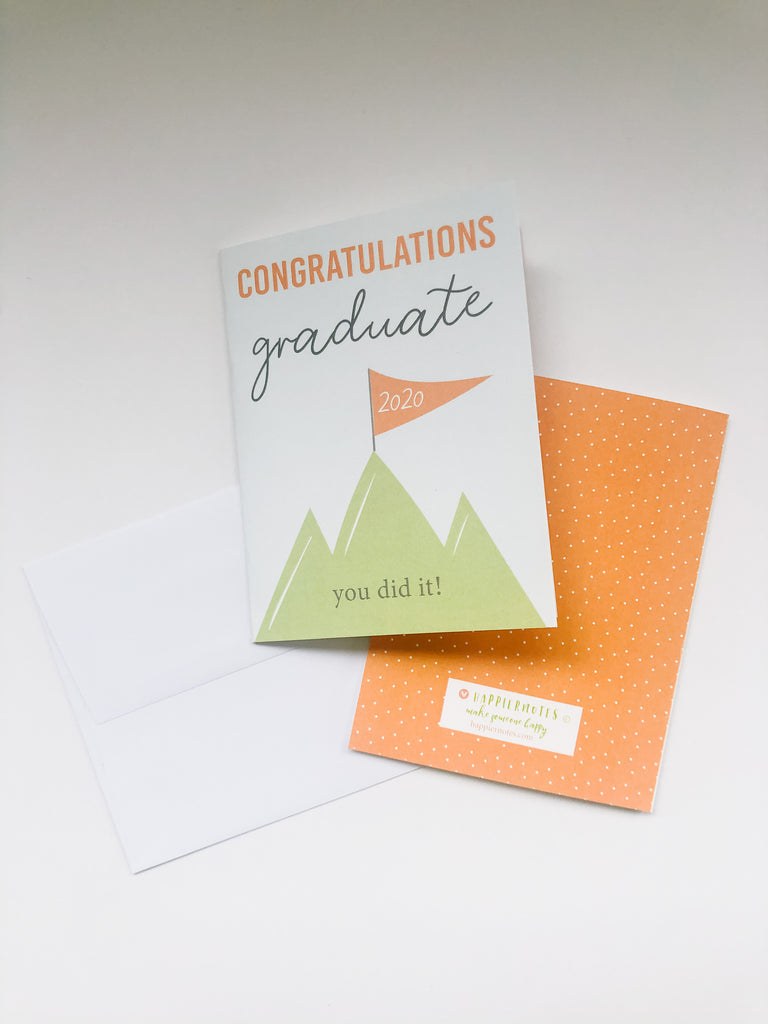 Happiernotes Graduation card