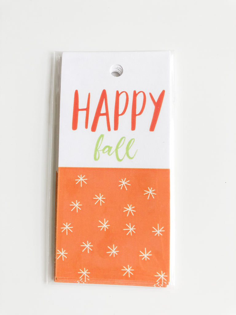 Happiernotes Happy Fall Gift tags