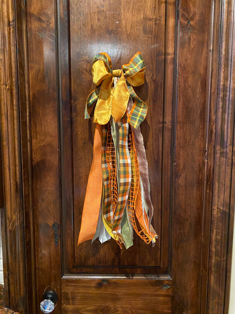 Thanksgiving Wreath Bow