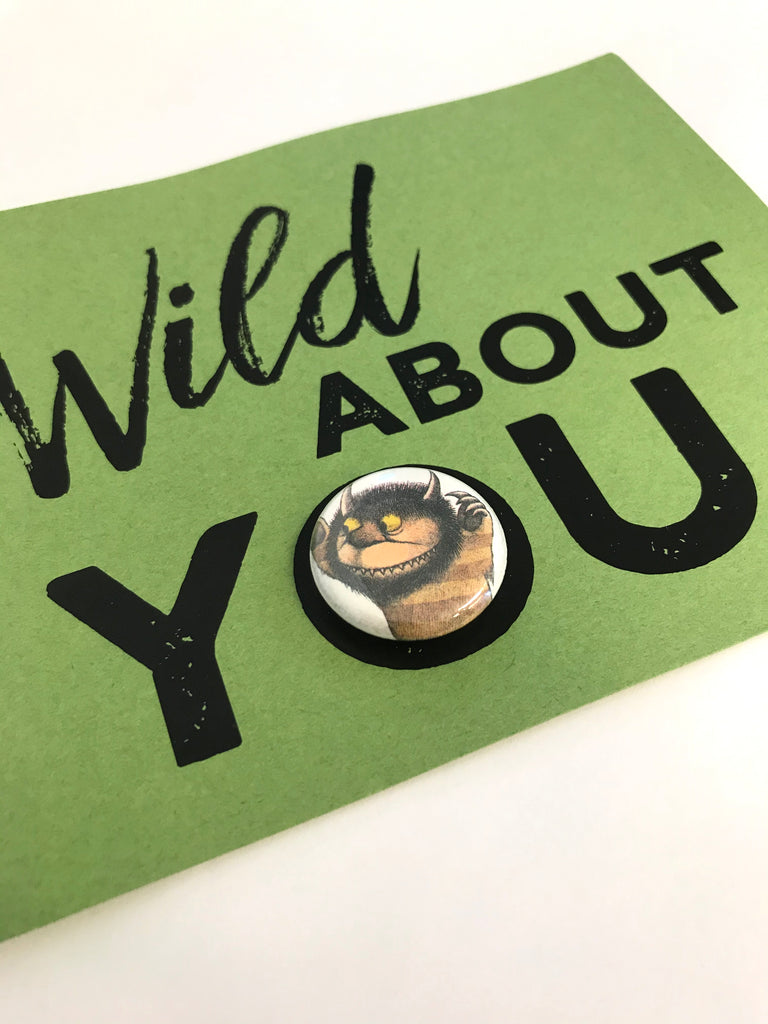 Wild Things Magnet Card