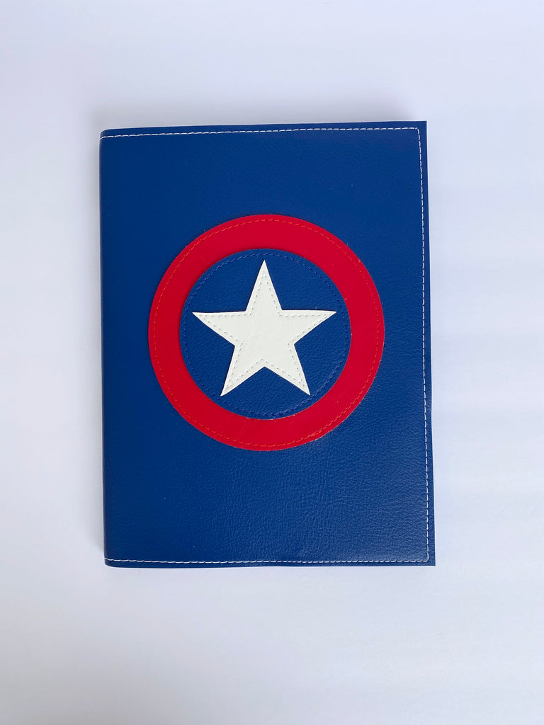 Large Captain America Notebook from Vinylicious
