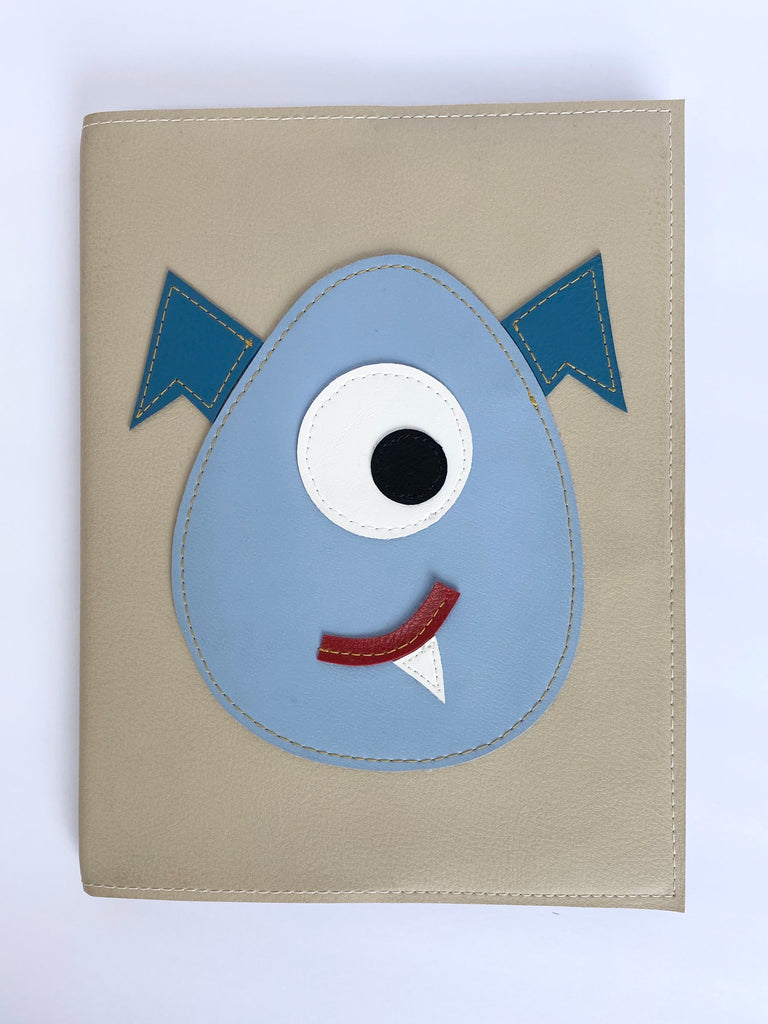 Large Monster Notebook from Vinylicious