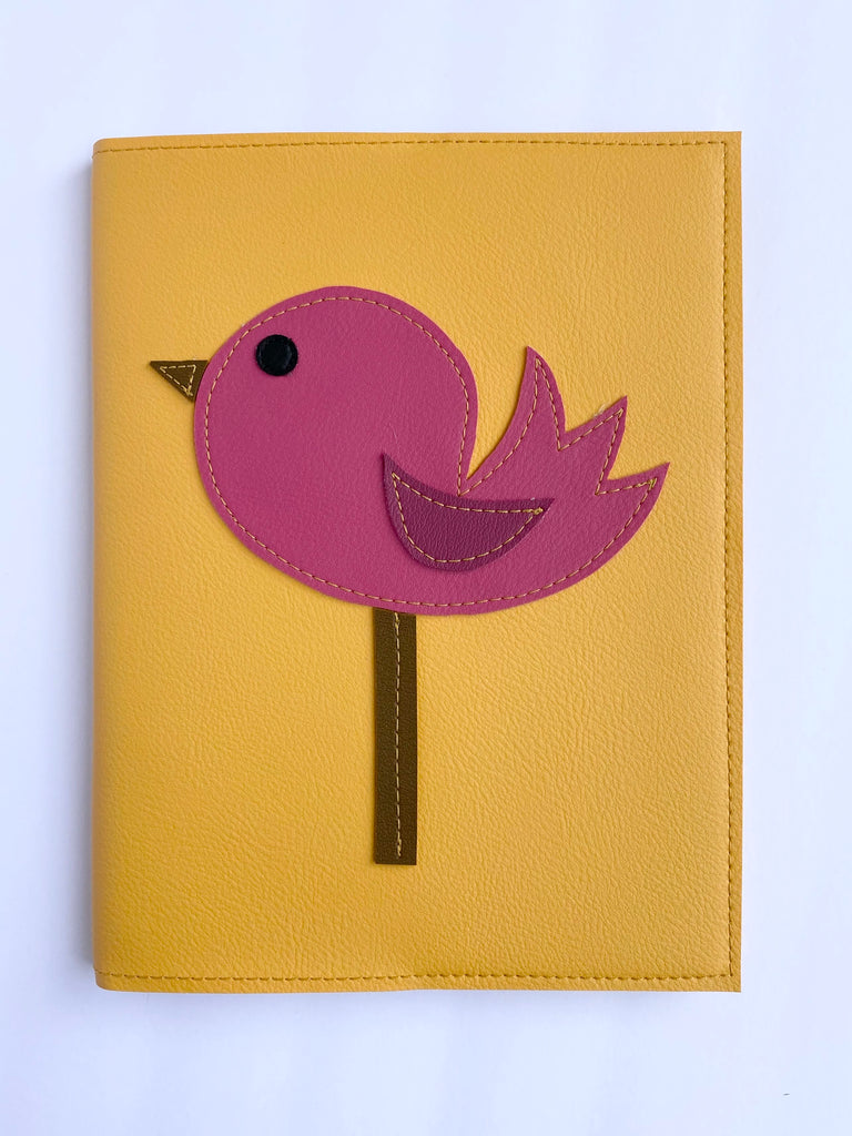 Large Bird Notebook from Vinylicious