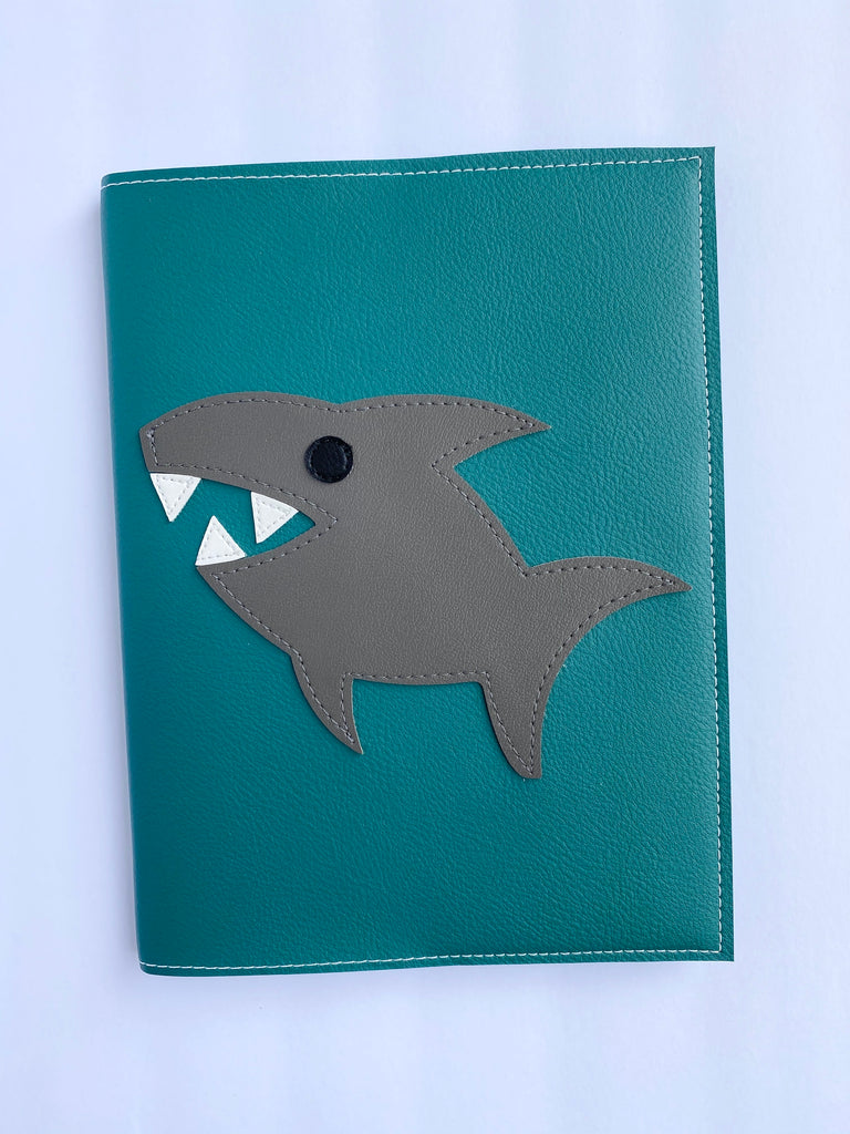 Large Shark Notebook from Vinylicious