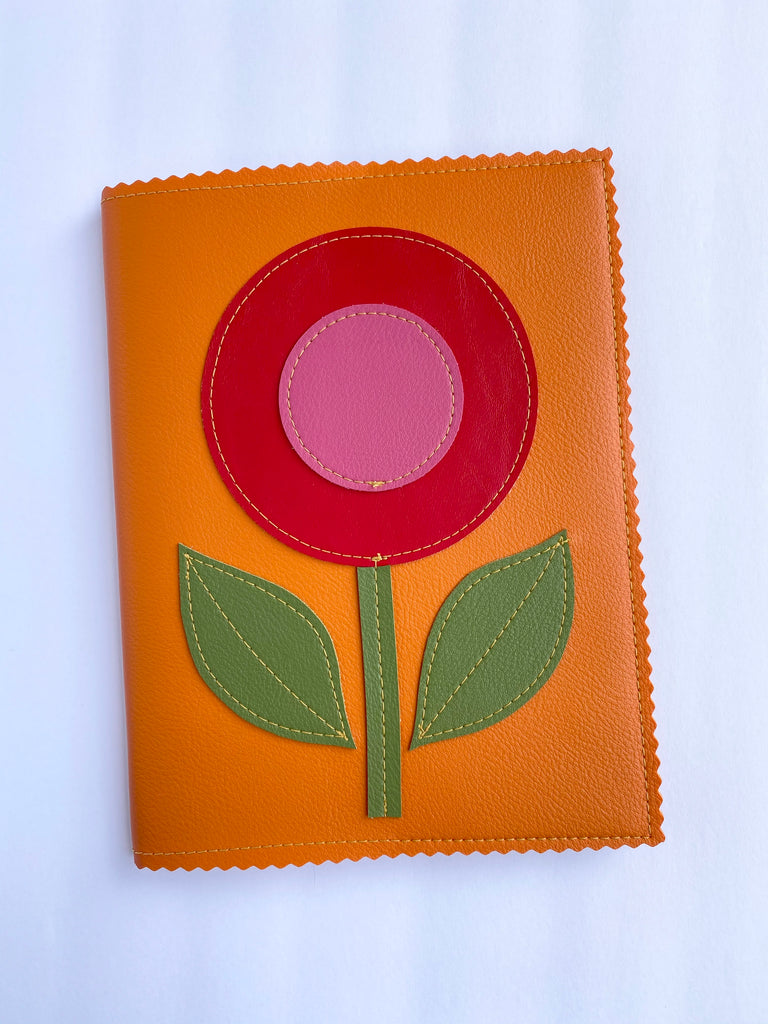Large Lollipop Flower Notebook from Vinylicious
