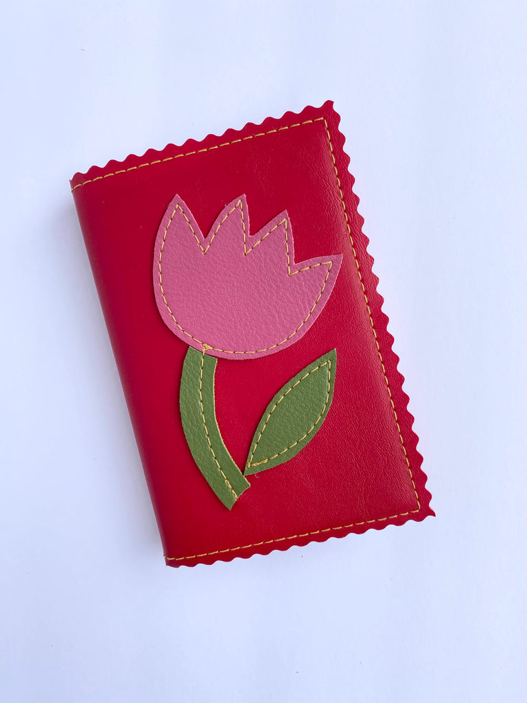 Red Tulip Book of Mormon from Vinylicious