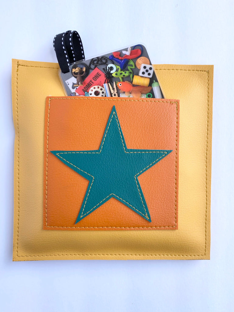 "Yellow Star ""I Spy"" Game from Vinylicious"