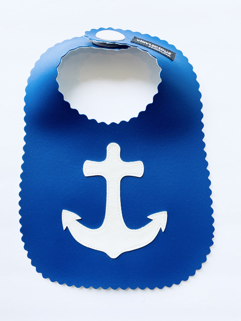 Royal Anchor Bib from Vinylicious