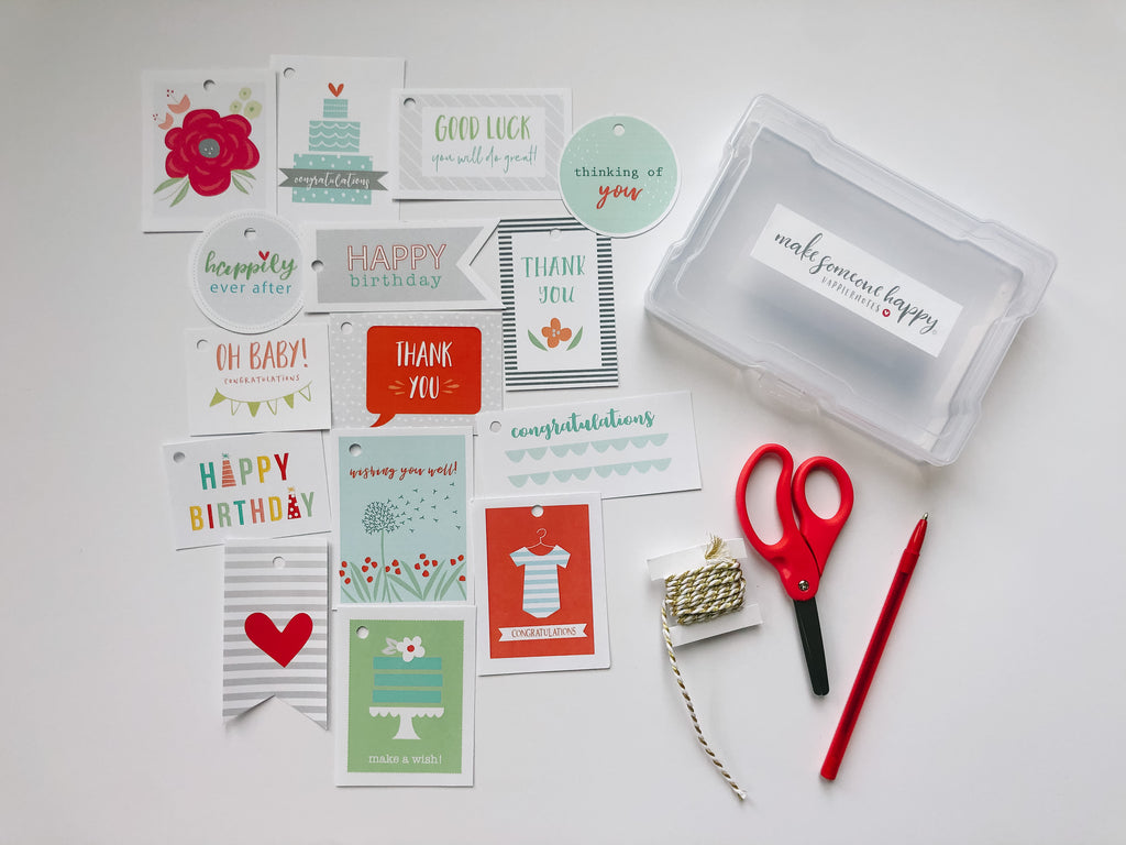 Happiernotes Gift Tag Kit
